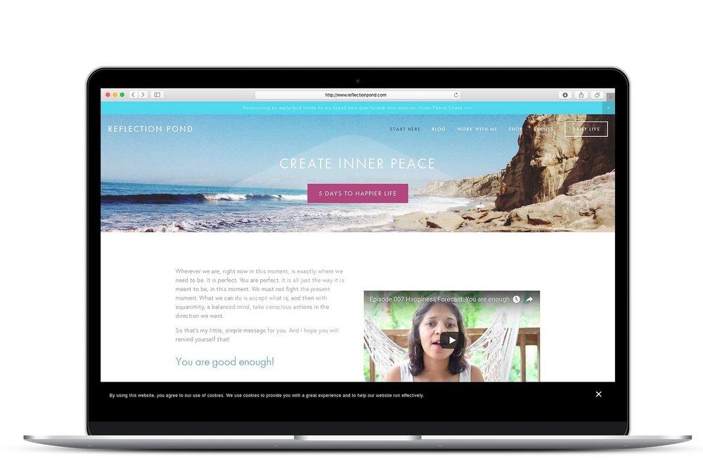 personal development site