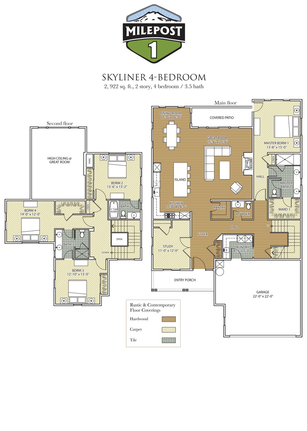 Milepost 1 Skyliner 4-Bedroom floor plan.png