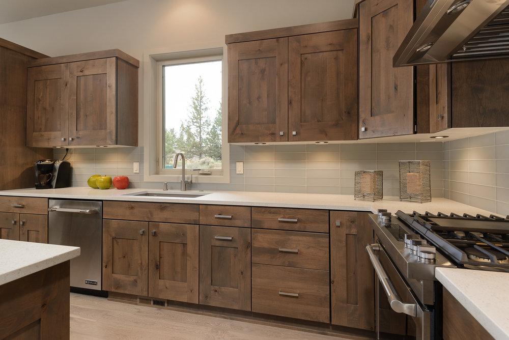 Milepost 1 Model Home kitchen