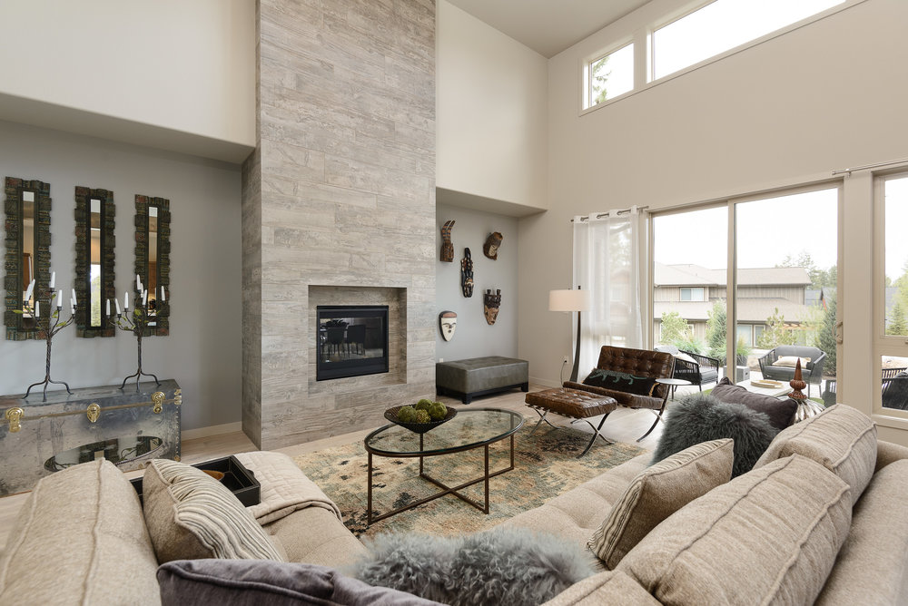Milepost 1 Model Home living area