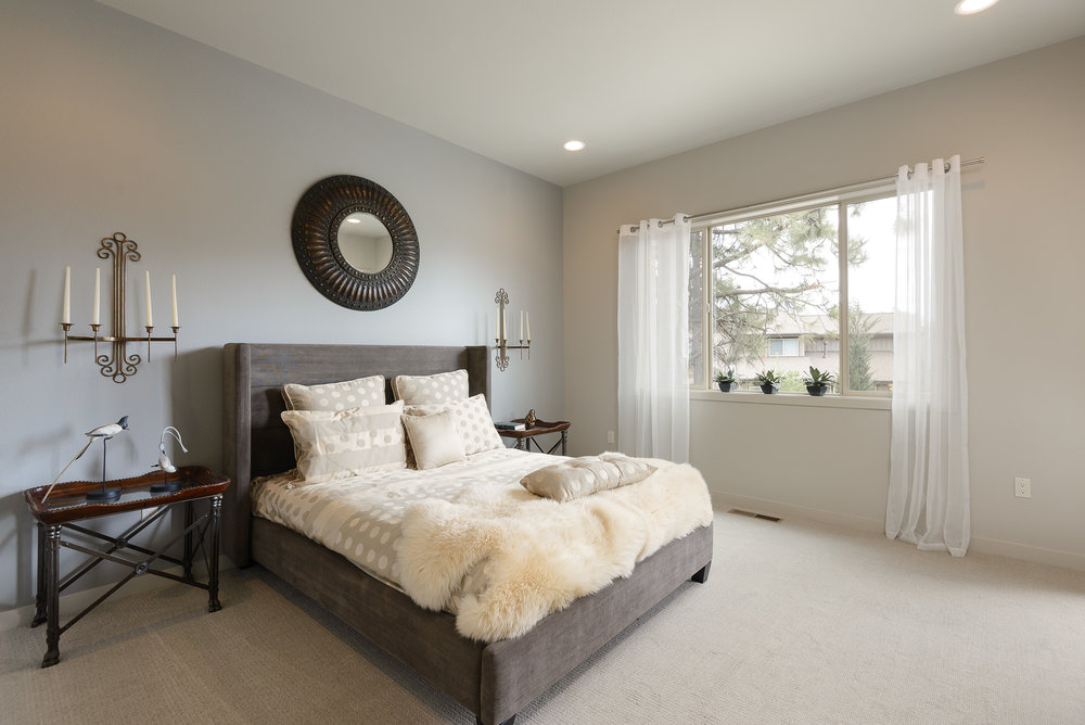 Milepost 1 Model Home bedroom