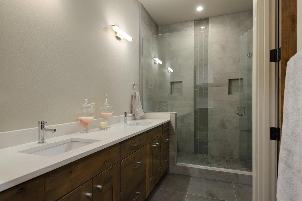 Milepost 1 Model Home master bath