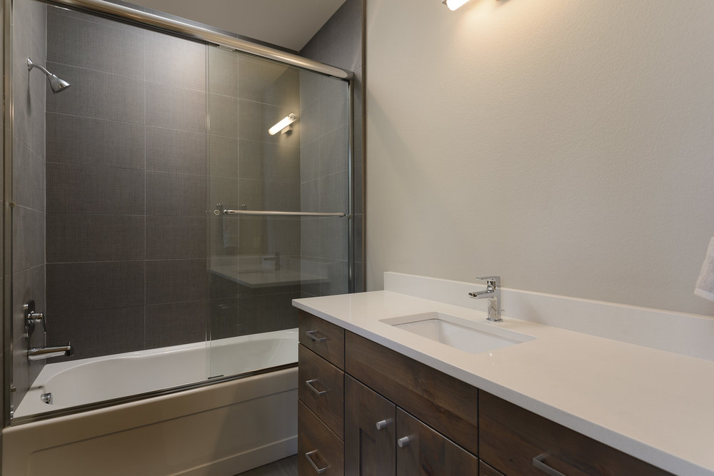 Milepost 1 Model Home guest bath