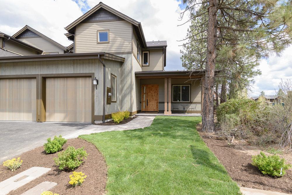 Milepost 1 Model Home front exterior