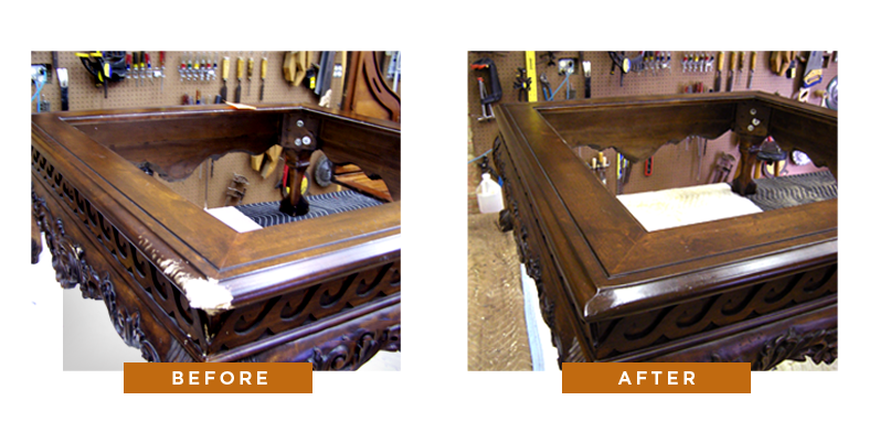 ... Repairs Exceed The Value Of The Furniture, We Make The Customer Aware.  Likewise, When We Are Working For A Moving Company We Make The Company  Aware If ...