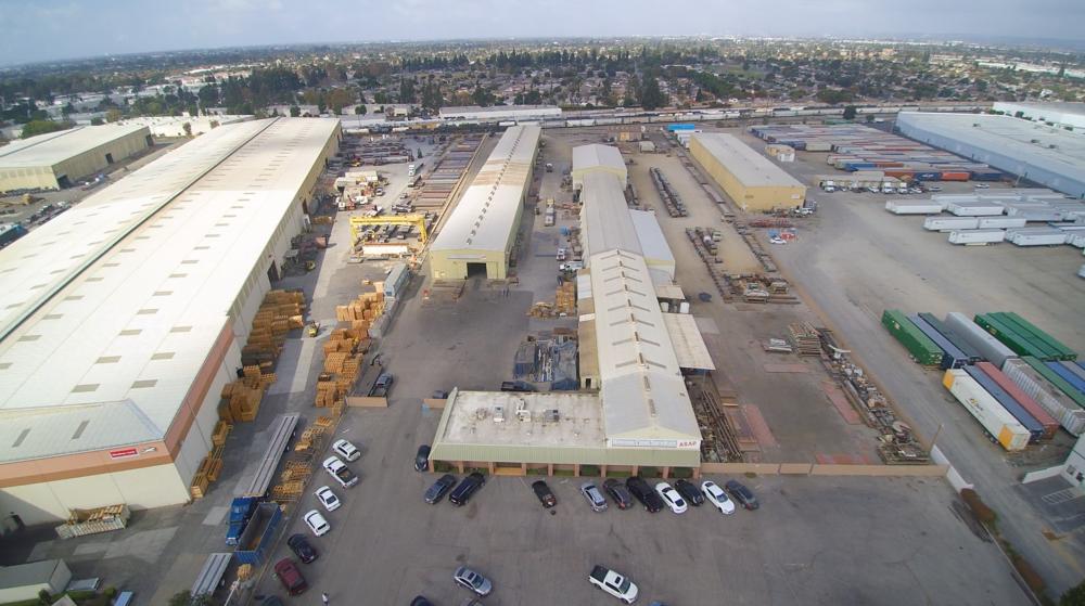 Hansen Steel. Santa Fe Springs, CA