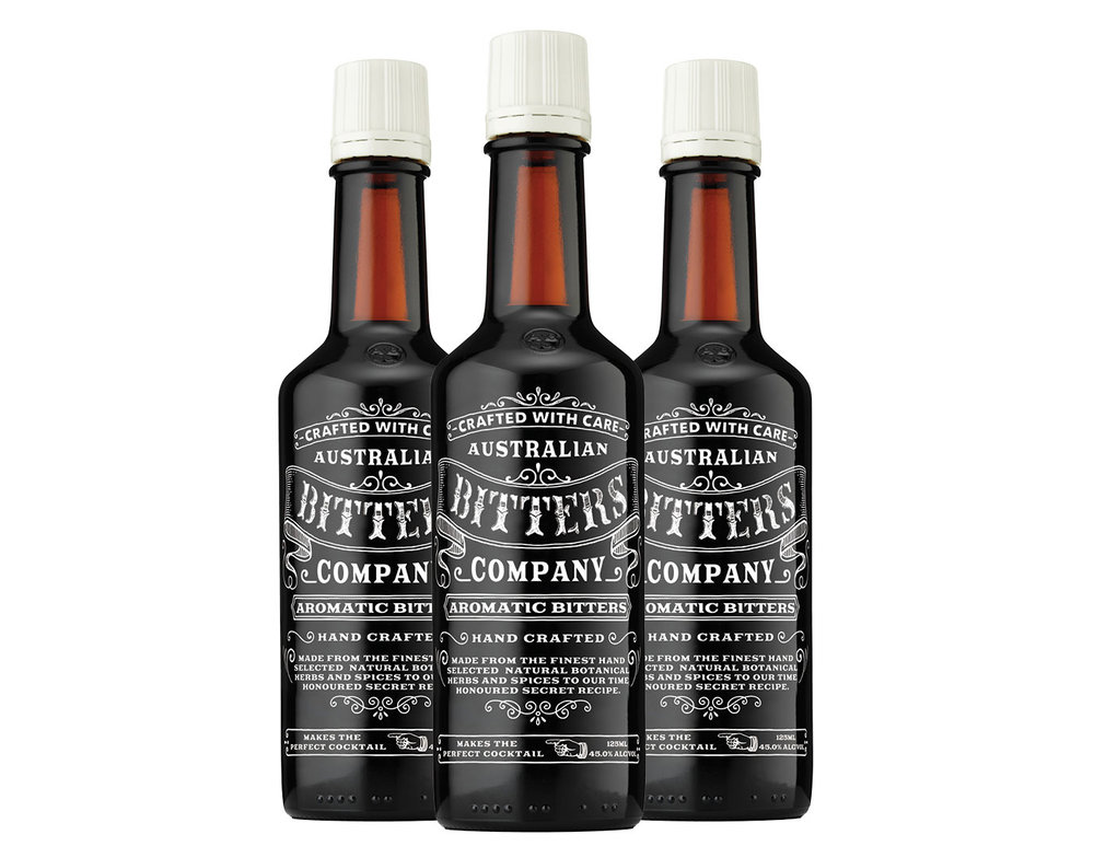 AUSTRALIAN BITTERS AROMATIC  Australian Bitters Co. Aromatic bitters are handcrafted with care by our mixology experts from the finest hand selected natural botanical herbs and spices to our time honoured secret recipe.   Each small batch is meticulously crafted by hand using old world techniques, therefore ensuring you will be able to taste and smell our commitment to excellence.
