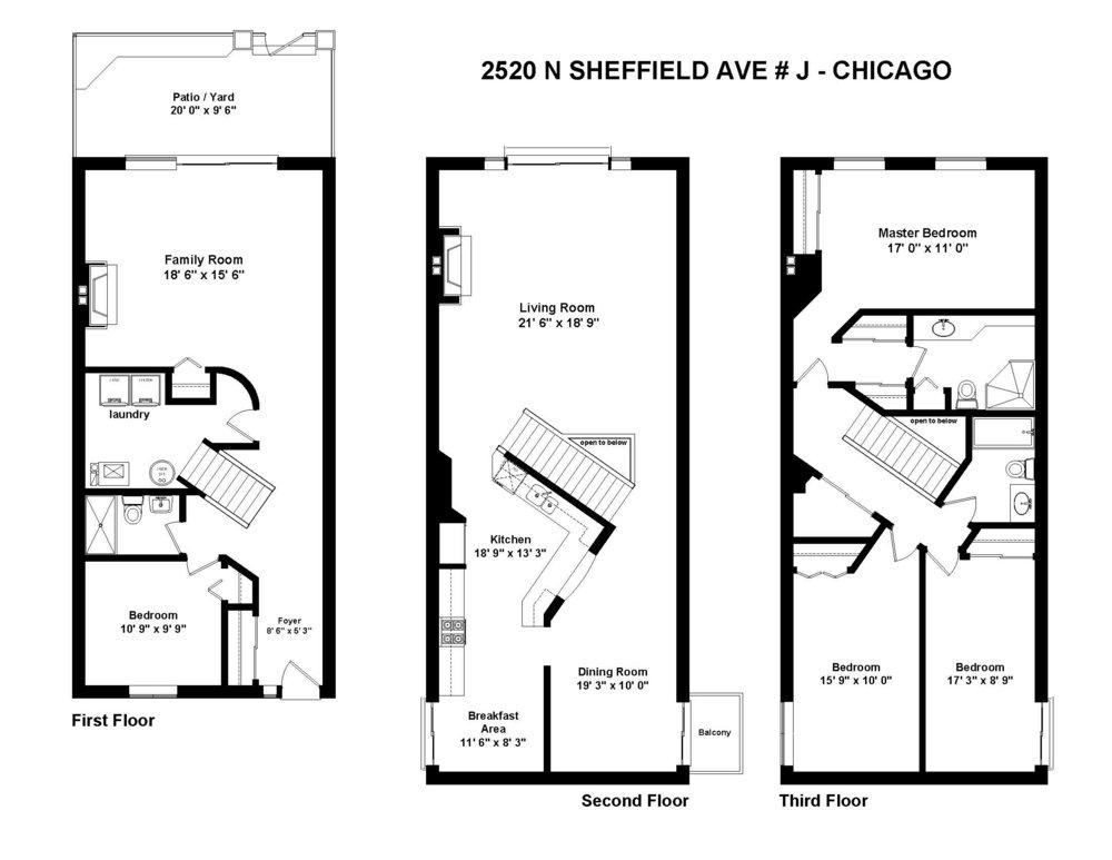 Floor Plans - 2520 N Sheffield # J .jpg
