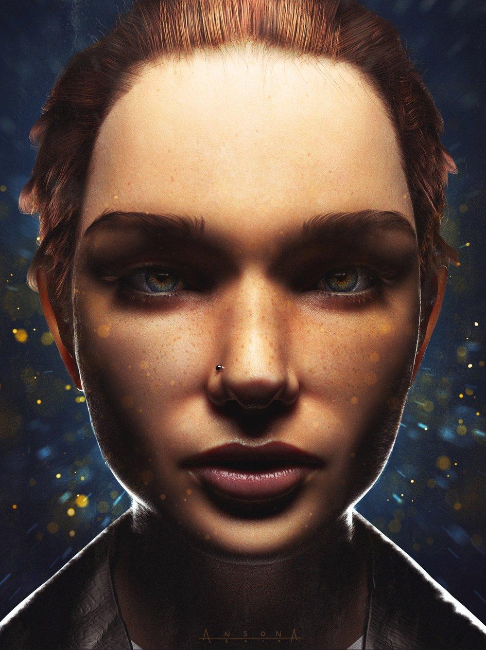 3D Portrait Study