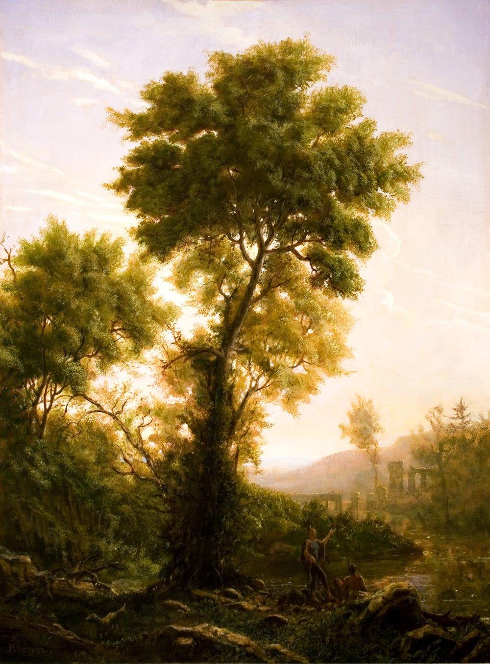 Koeppel_The Claudian Tree_24x32_oil on panel.jpg
