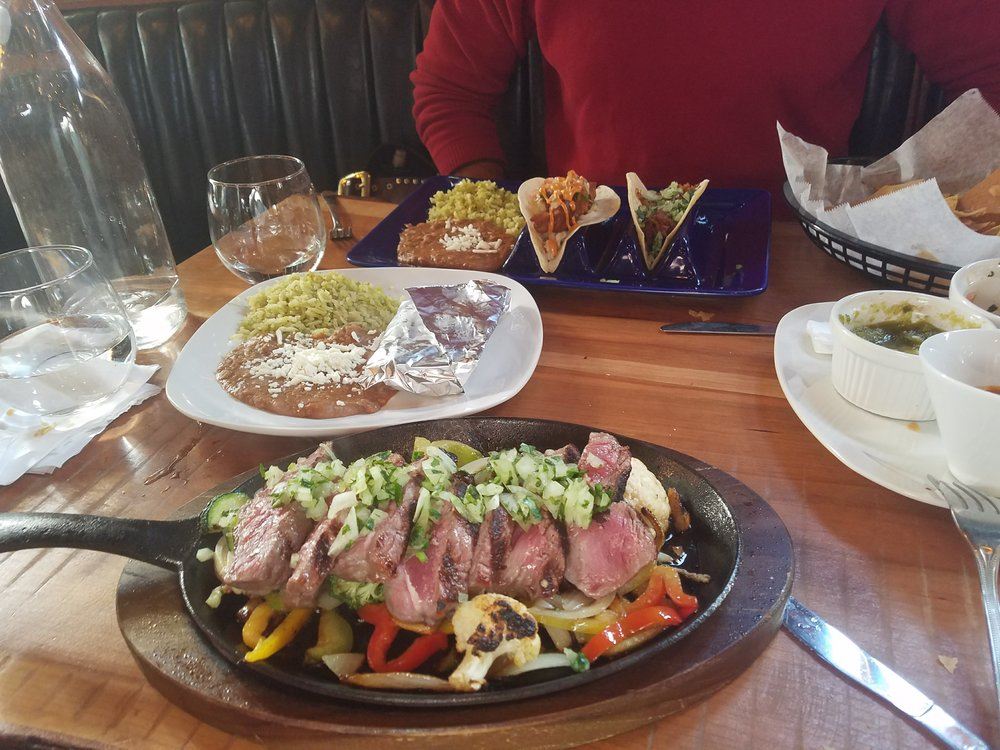 Ribeye Fajitas at a local restaurant