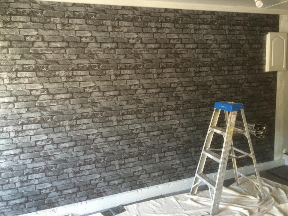Brick Wallpaper Installation Garage.jpg