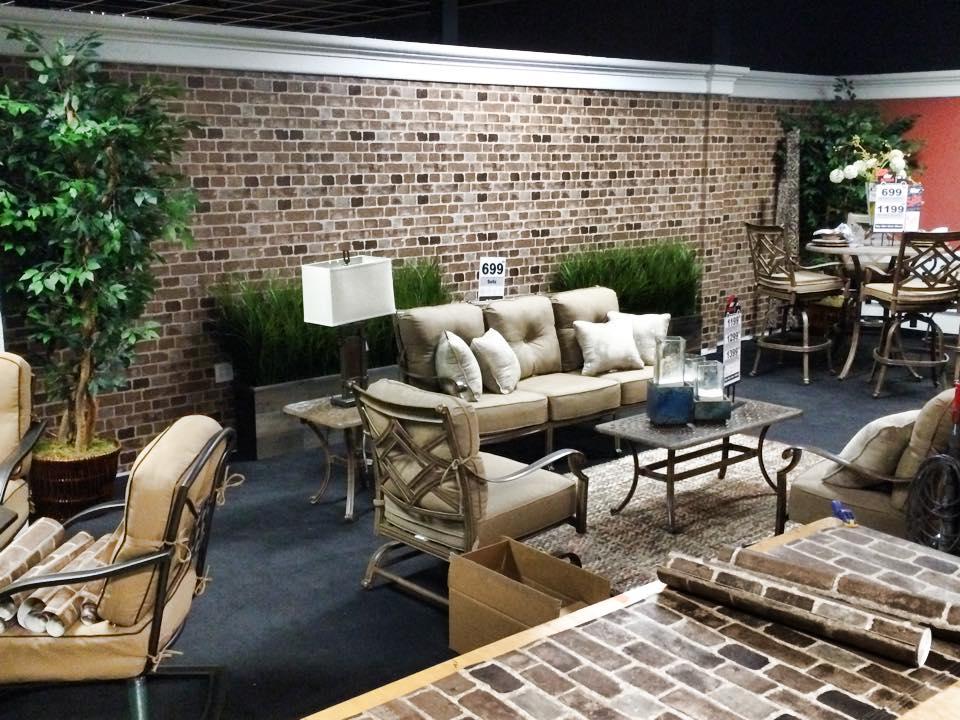 Furniture Store Brick Wallpaper Install.jpg