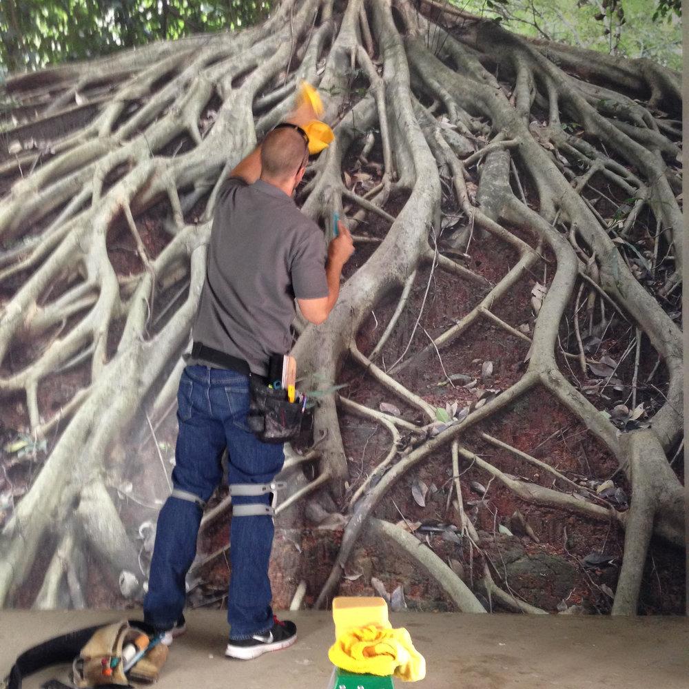 Roots Mural Install - Mark Lyons & Co.jpg