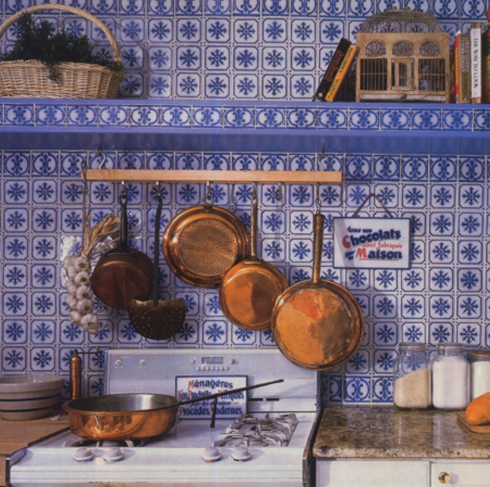 Monet's kitchen