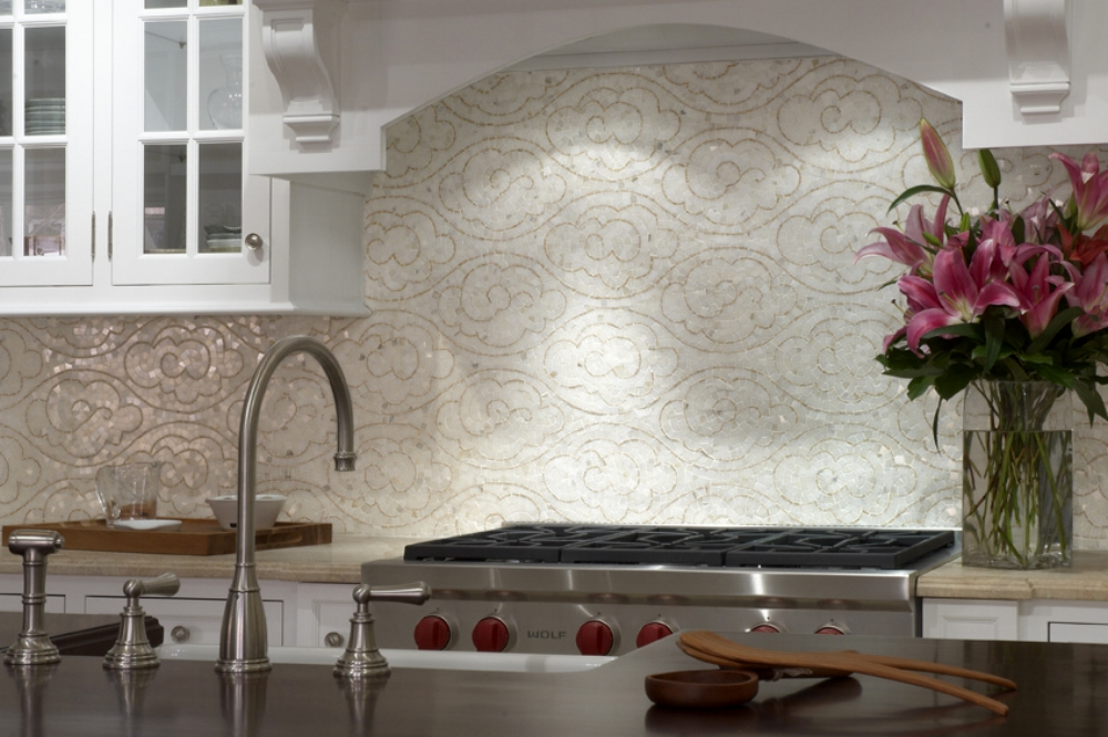 High end Kitchen backsplash