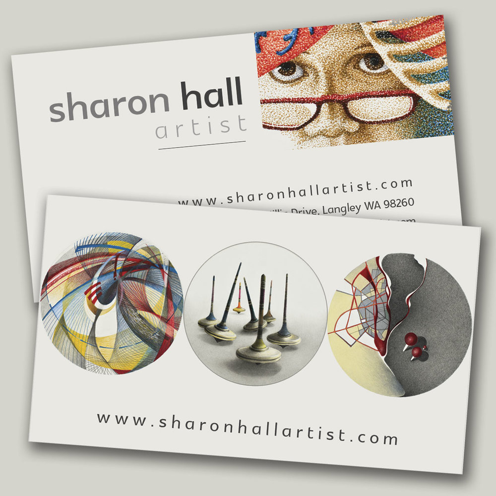 Business cards for artist , design and printing