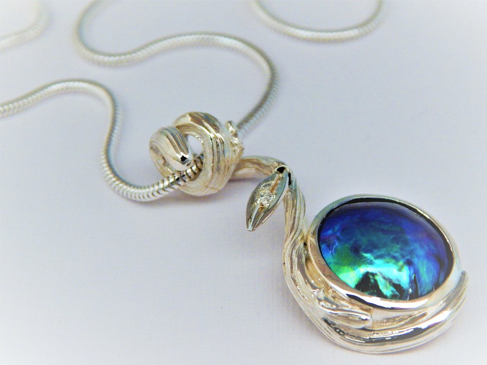 GALLERY PACIFIC - Pacific Blue Pendant