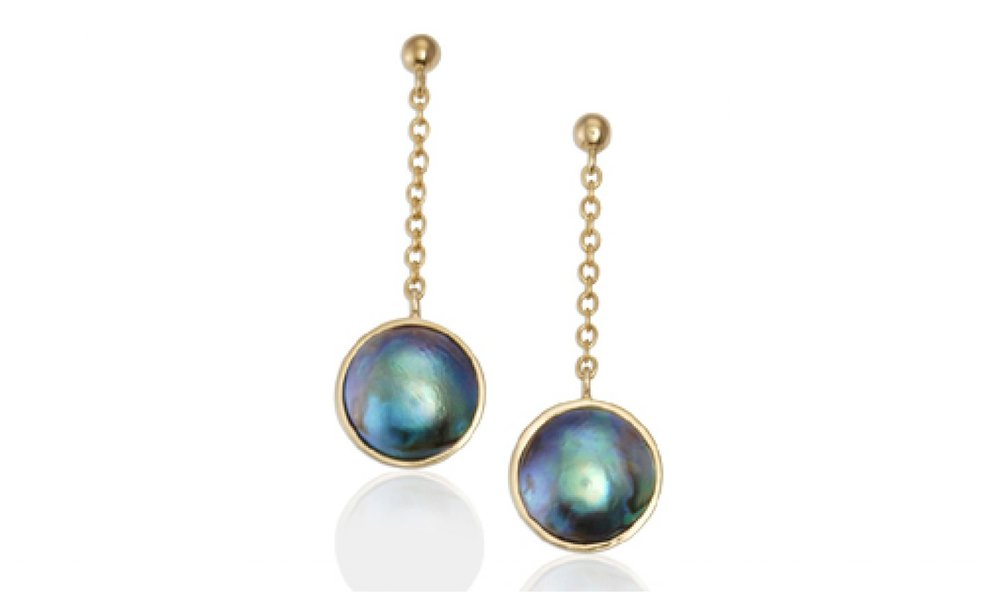AURUM - Pacific Blue earrings