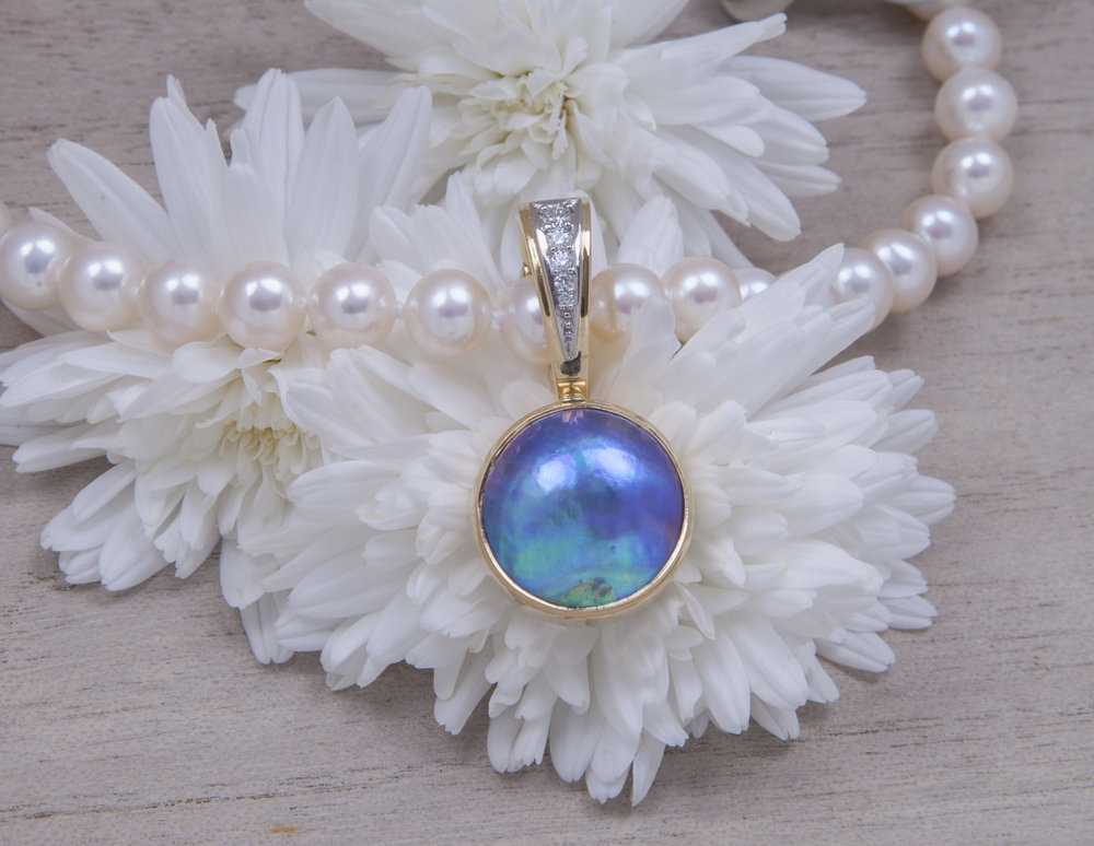 BLUE PEARLS GALLERY - Eyris pearl