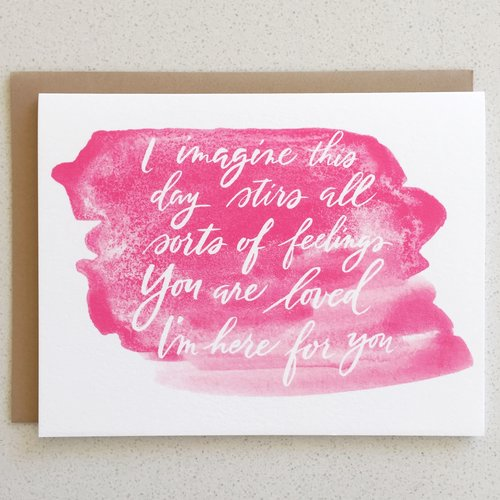 I Had a Miscarriage - Mothers Day Card