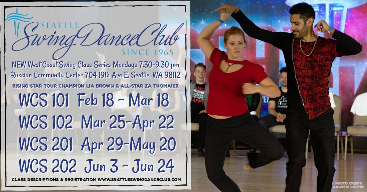 NEW West Coast Swing Classes! | Seattle Swing Dance Club | West