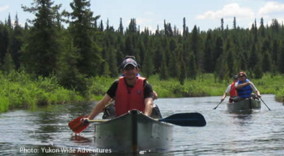 Canoeing Canada's True North