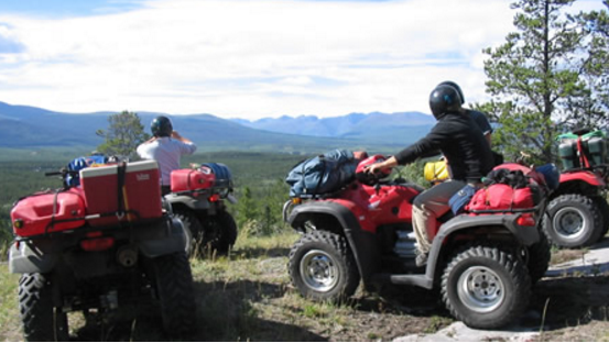 Guided ATV/Quad Tour on remote trails
