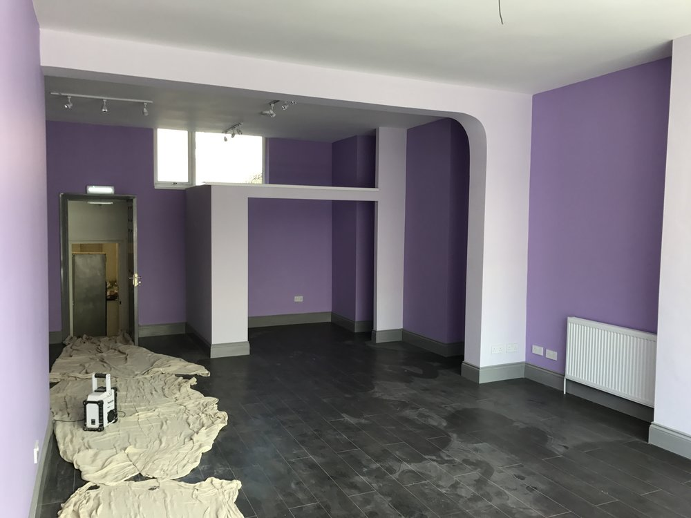 A1 Retail, Prior to Tenant Move In
