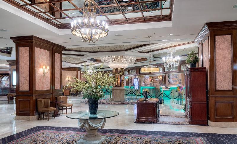 Silver Legacy Resort Casino Lobby