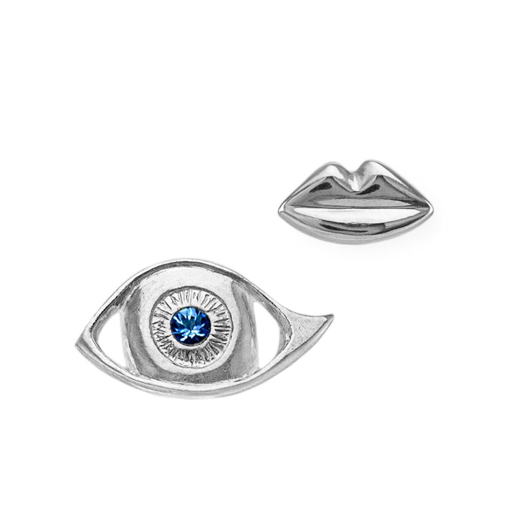 kozminka-earing-kiss-silver-and-earring-sapphire-eye-silver.jpg