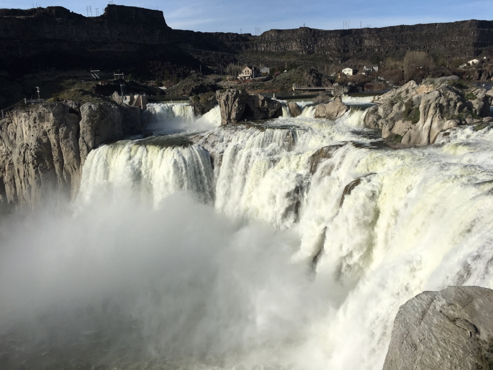 Shoshone Falls (April 5, 2017). Photo by Ritchie Eppink, ACLU of Idaho Legal Director.