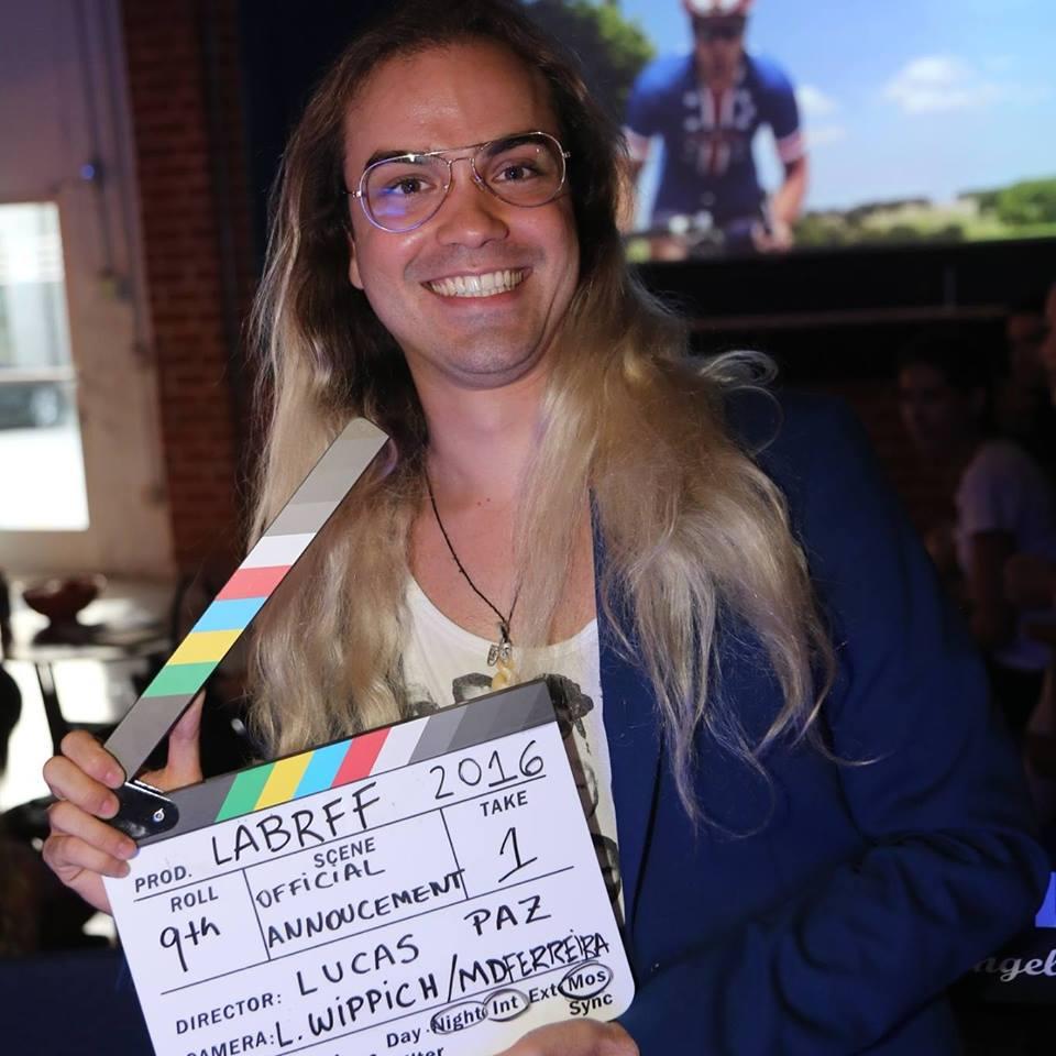 LUCAS PAZ TEM 3 FILMES NO LOS ANGELES BRAZILIAN FILM FESTIVAL