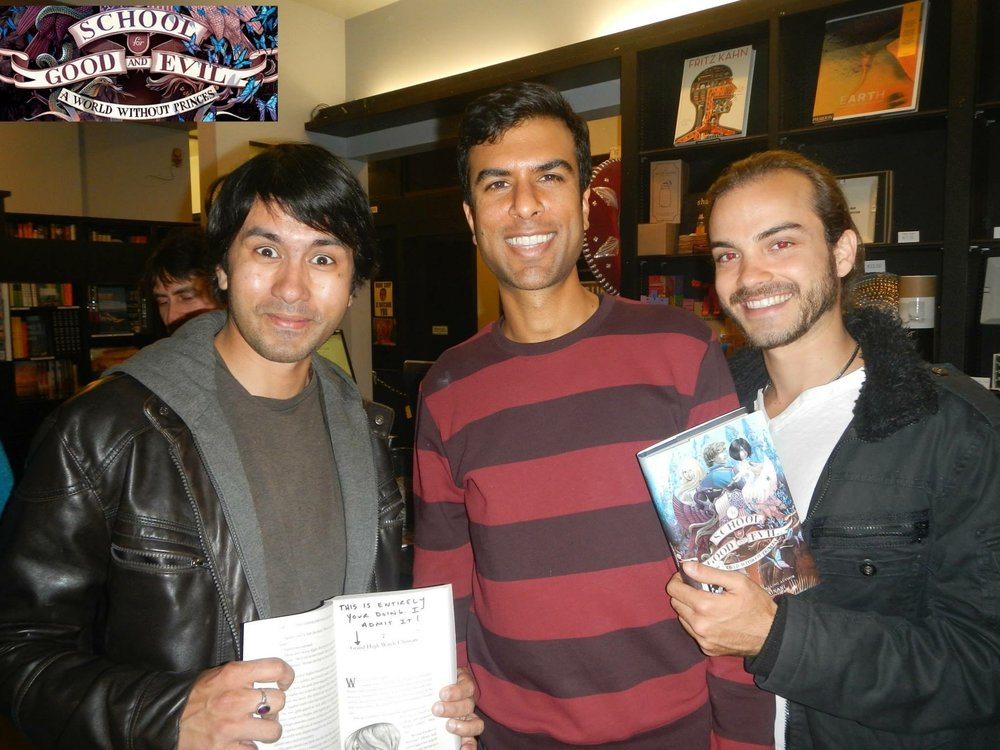 Soman Chainani | School of Good and Evil book release at Book Soup 2014