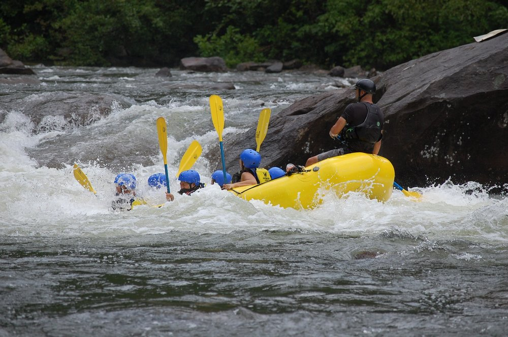 Raft and Zipline ZOAR - August 18 - 19