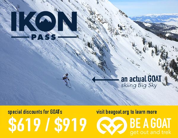 GOAT - Ikon Ski Pass Discount