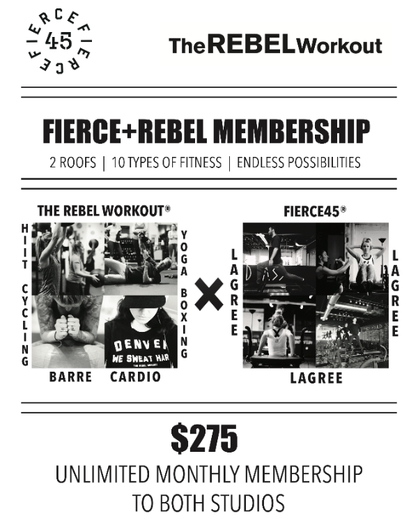 Fierce + Rebel Membership