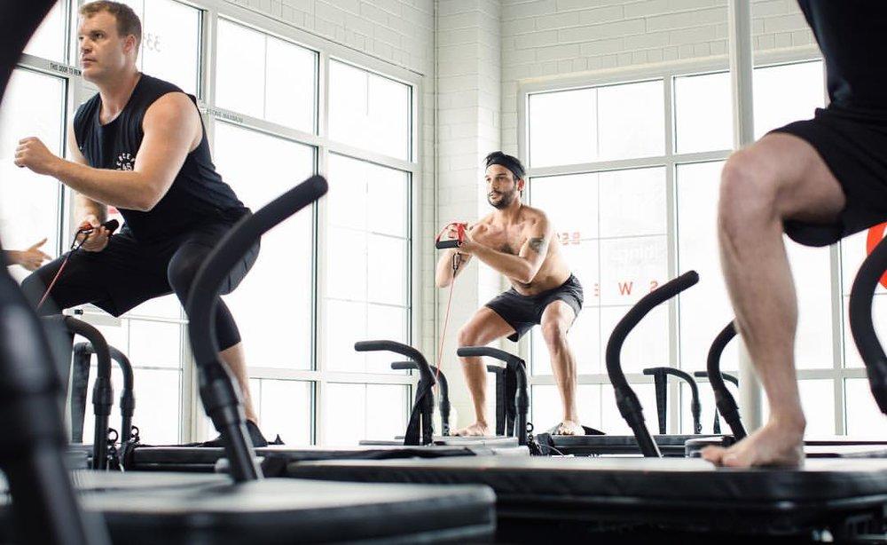 Lagree fitness class