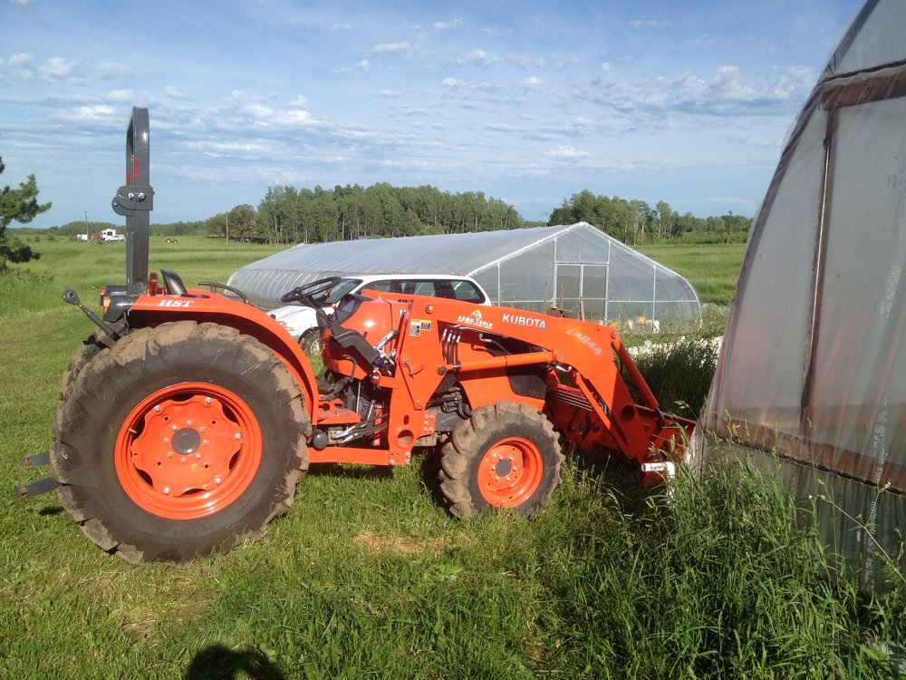 Our little kubota shortly after we got it