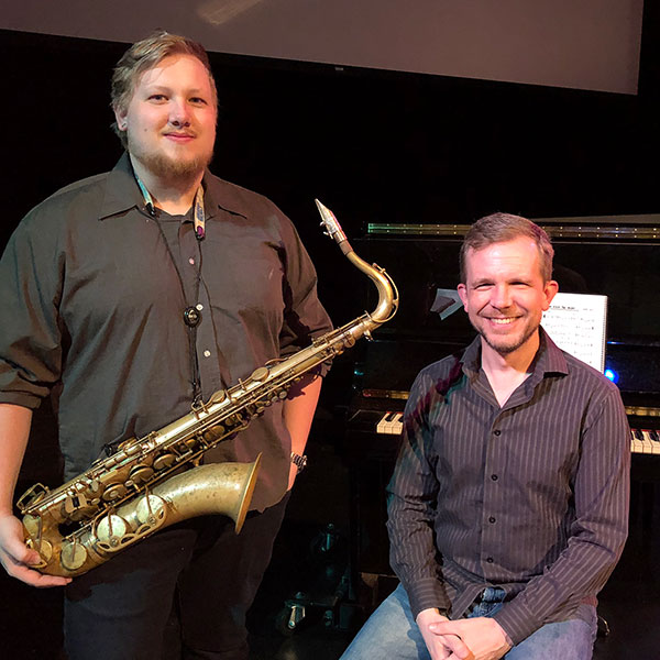 The Guertsen Duo - Piano and Saxaphone