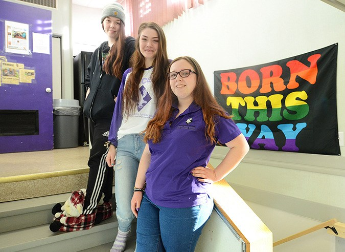 ACE students Leslie Johnson, Emma Potts, and Frances Oliver will take the stage at the upcoming tryouts for TEDxChilliwack.