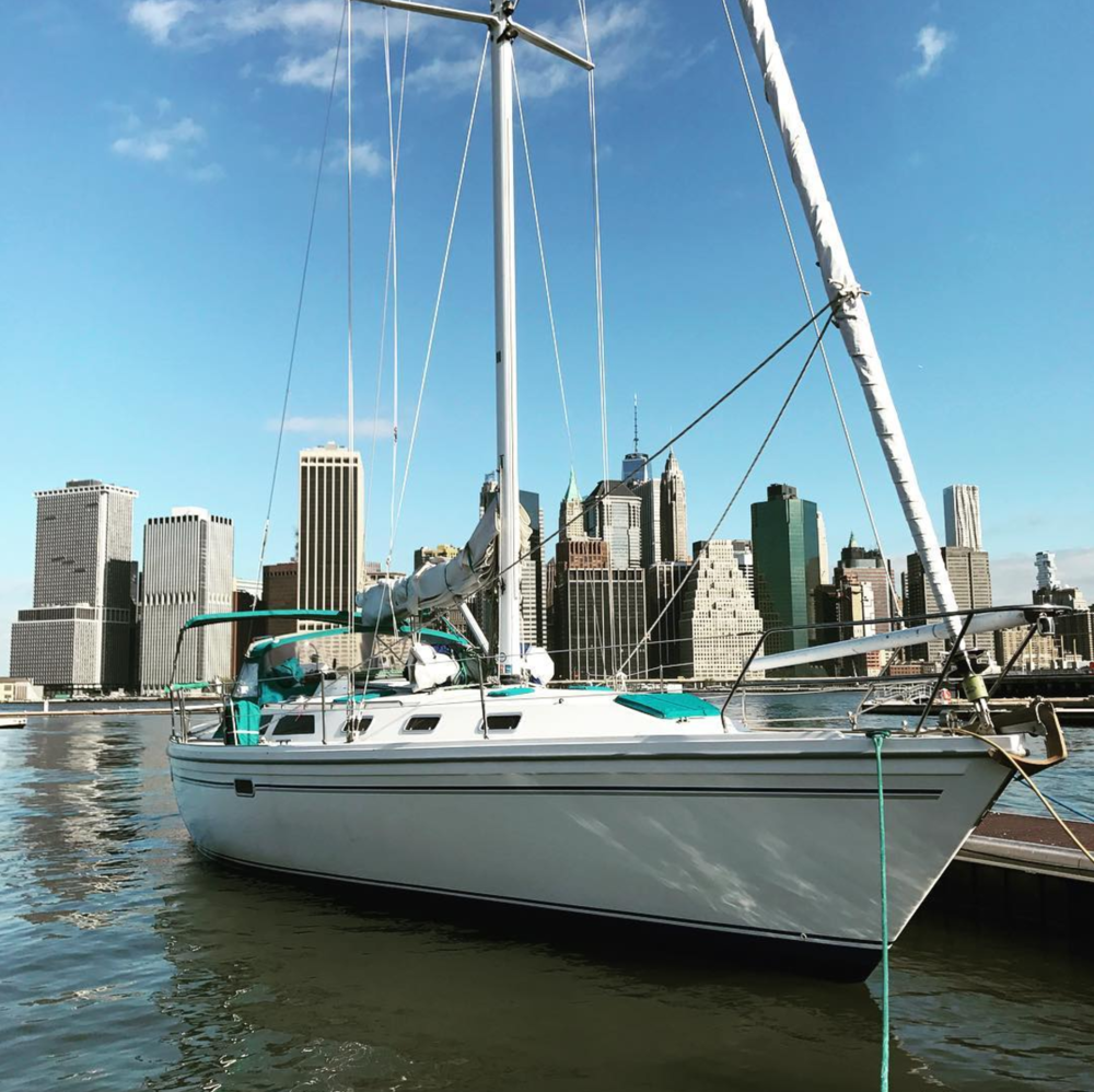 Elizabeth -  Our trusty 42-foot American-built Catalina sloop
