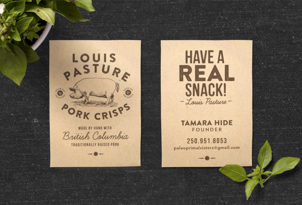 LOUIS PASTURE  Identity & Packaging