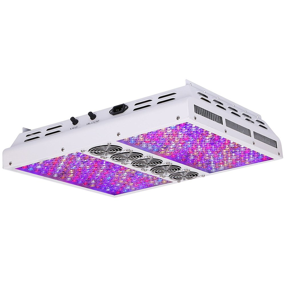 1200w Viparspectra Dimmable LED Grow Light