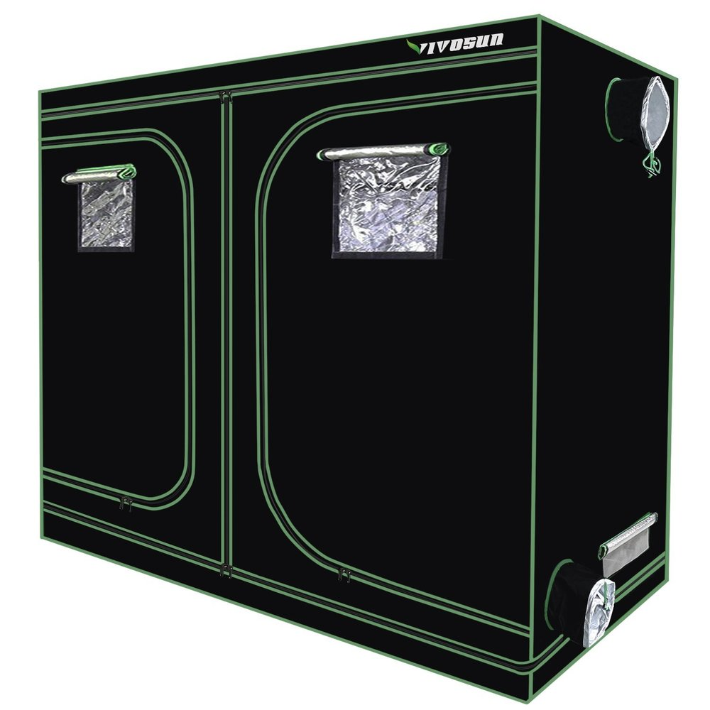 Large Vivosun Grow Tent 8ftx4ftx6.5ft