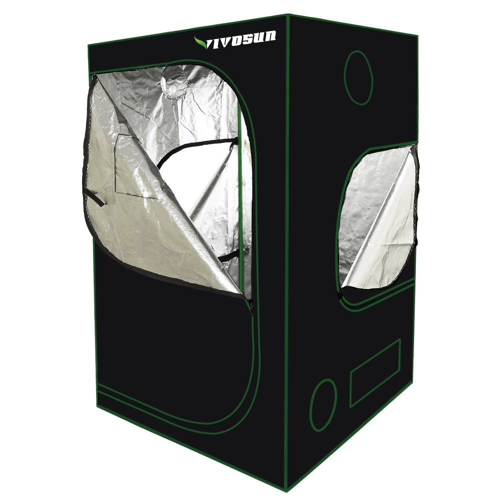 Small Vivosun Grow Tent 4ftx4ftx6.5ft
