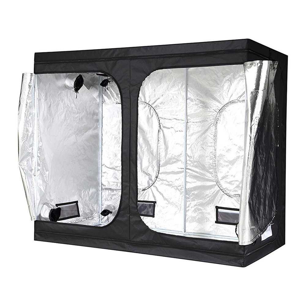 Large iPower Grow Tent 8ftx4ftx6.5ft