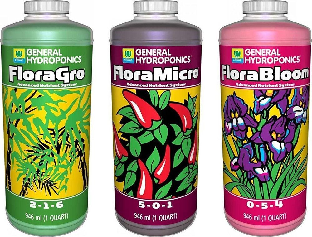 General Organics Flora Trio Nutrient Series