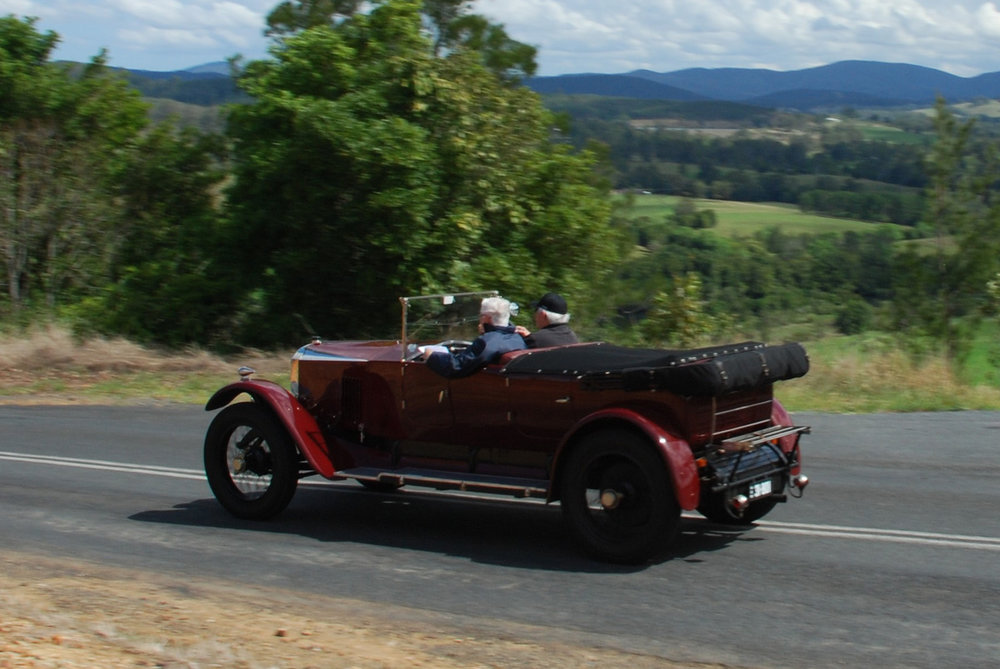 George Green Rally — Vintage Sports Car Club of Australia