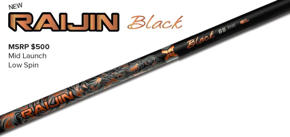 RAIJIN BLACK  MSRP: $500.00